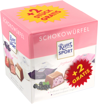 EAN:4000417650900 Schokowürfel Joghurt 192g   bei Wellonga 2,49 €