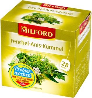EAN:4002221024663 Tee Fenchel Anis Kümmel 28 Btl.   bei Wellonga 1,99 €