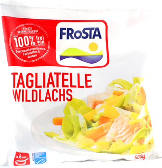EAN:4008366001224 Tagliatelle Wildlachs 500G   bei Wellonga 3,59 €