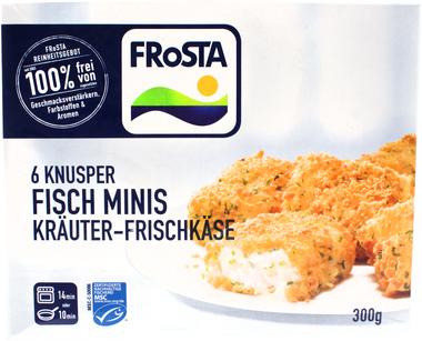 EAN:4008366011087 6 Knusper Fisch-Minis Kräuter 300g   bei Wellonga 2,99 €