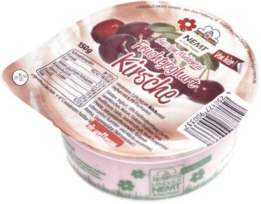 EAN:4250177900924 Joghurt Kirsche 150g   bei Wellonga 0,65 €