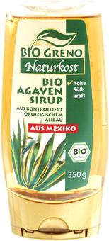 EAN:4306205040725 Bio Agaven Sirup 350g   bei Wellonga 2,99 €