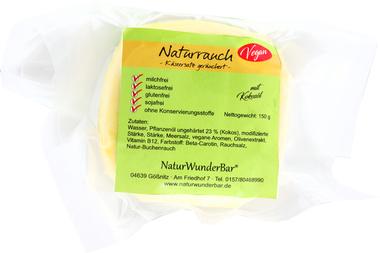 """EAN:4949490032169 Käse-Ersatz vegan """"Naturrauch"""" 150g   bei Wellonga 4,50 €"""
