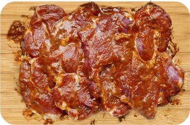 EAN:4949492301065 Schweinesteak Paprika Kräuter 4 Stück 640g   bei Wellonga 5,40 €
