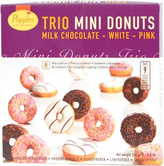 EAN:5411823250322 Mini Donuts 250g   bei Wellonga 2,49 €