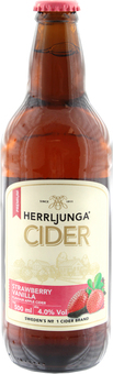EAN:7312720045036 Herrljunga Cider 0,5L Erdbeere/Vanille 4% vol.   bei Wellonga 2,99 €