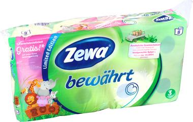 EAN:7322540739565 Toilettenpapier bewährt 3-lag. 8er   bei Wellonga 2,79 €