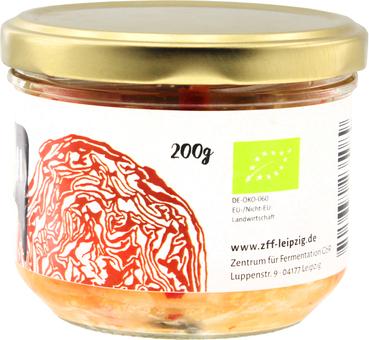 EAN:0705632235089 Kimchi scharfes Sauerkraut koreanischer Art 200g   bei Wellonga 3,99 €