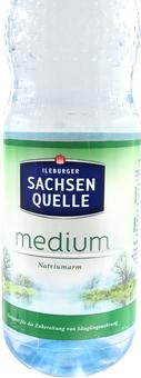 EAN:4002627801820 SachsenQuell Medium 1L   bei Wellonga 0,38 €