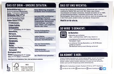 EAN:4008366004386 Wildlachs in Blätterteig 300g   bei Wellonga 3,99 €