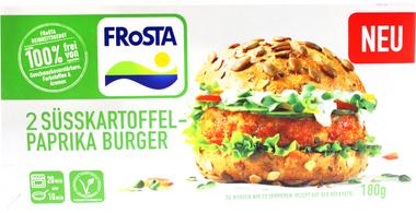 EAN:4008366012619 2 Süsskartoffel-Paprika Burger 180g   bei Wellonga 2,19 €