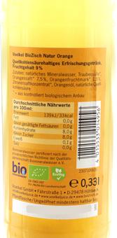 EAN:4015533014956 BioZisch Natur Orange 0,33l   bei Wellonga 0,99 €