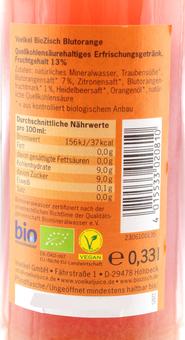 EAN:4015533020810 BioZisch Blutorange 0,33l   bei Wellonga 0,99 €