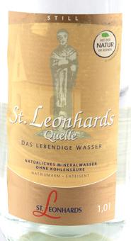 EAN:4022569110002 St. Leonhard Still 1l   bei Wellonga 1,29 €