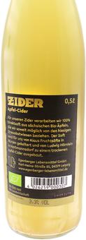 EAN:4026259000307 Zider Apfel-Cider 3,3% vol. 0,5l   bei Wellonga 2,85 €