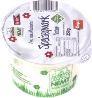 EAN:4250177900085 Speisequark 250g 40% Fett   bei Wellonga 1,40 €