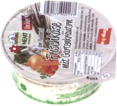 EAN:4250177900177 Frischkäse Kräuter 150g   bei Wellonga 1,79 €