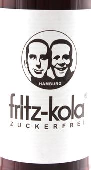 EAN:4260107220022 Fritz-Kola Zuckerfrei 0,33l   bei Wellonga 0,85 €