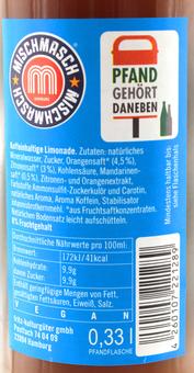 EAN:4260107221289 Kola vs. Orange MischMasch 0,33l   bei Wellonga 0,85 €
