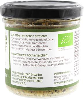 EAN:4260462929929 Brotaufstrich Hanf Peter 140g   bei Wellonga 3,50 €
