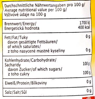 EAN:4306188042143 Feinzucker Raffinade 1kg   bei Wellonga 0,85 €