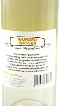EAN:5908311393390 Stiller Josef Wunderwasser 35% Honig Zitrone 0,5l   bei Wellonga 15,90 €