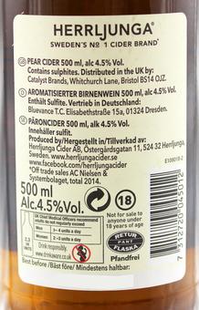 EAN:7312720045012 Herrljunga Cider 0,5L Birne 0,5l 4,5% vol.   bei Wellonga 2,99 €