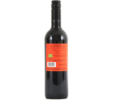 EAN:8008900001297 Bio Merlot trocken 0,75l   bei Wellonga 3,99 €