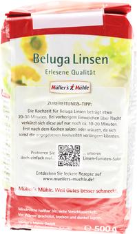 EAN:4000286231873 Beluga Linsen 500G   bei Wellonga 2,45 €