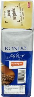 EAN:4013743000233 Kaffee Rondo Melange gemahlen 500g   bei Wellonga 3,99 €