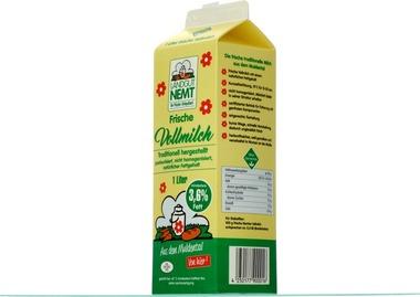 EAN:4250177900016 Landmilch 3,6% Fett 1l   bei Wellonga 1,49 €
