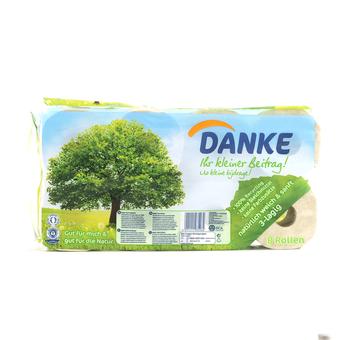 EAN:9011111035264 Toilettenpapier 3 Lagig 8Er   bei Wellonga 2,79 €