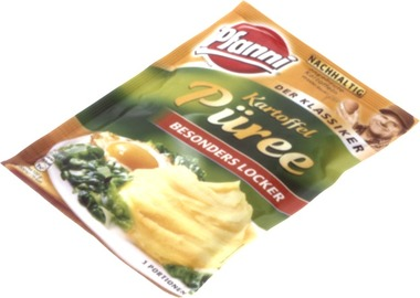 EAN:4000400130716 Kartoffel Püree 3 Port.   bei Wellonga 1,09 €