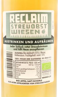 EAN:4015350108012 Streuobst-Apfel-Schorle 0,33l   bei Wellonga 1,69 €
