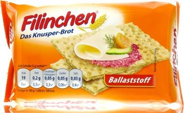 EAN:4015427111440 Filinchen Ballaststoffaktiv 75g   bei Wellonga 0,89 €