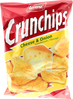 EAN:4018077667794 Kartoffel Chips Cheese & Onion 150g   bei Wellonga 1,49 €