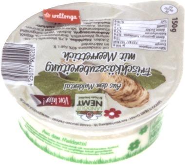 EAN:4250177900207 Frischkäse Meerrettich 150g   bei Wellonga 1,79 €