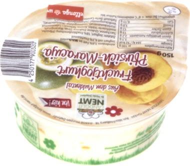 EAN:4250177900320 Joghurt Pfirsich Maracuja 150g   bei Wellonga 0,65 €