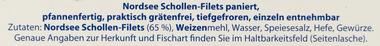 EAN:4306205965226 Schollenfilet Paniert  MSC 250G   bei Wellonga 2,99 €
